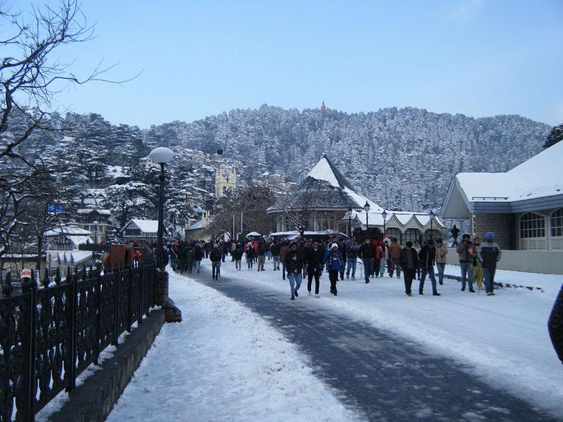10 Best places to visit in Shimla and perfect time for snow
