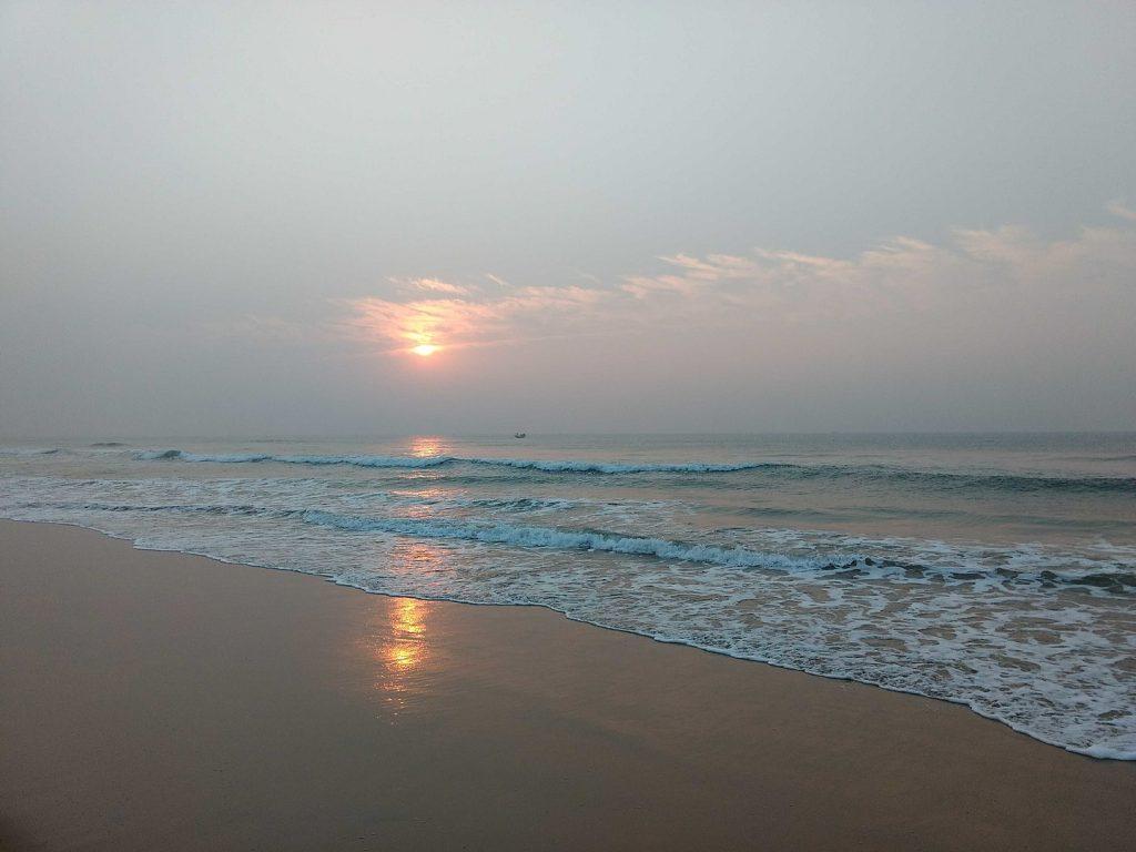 Golden Beach of Puri Orissa