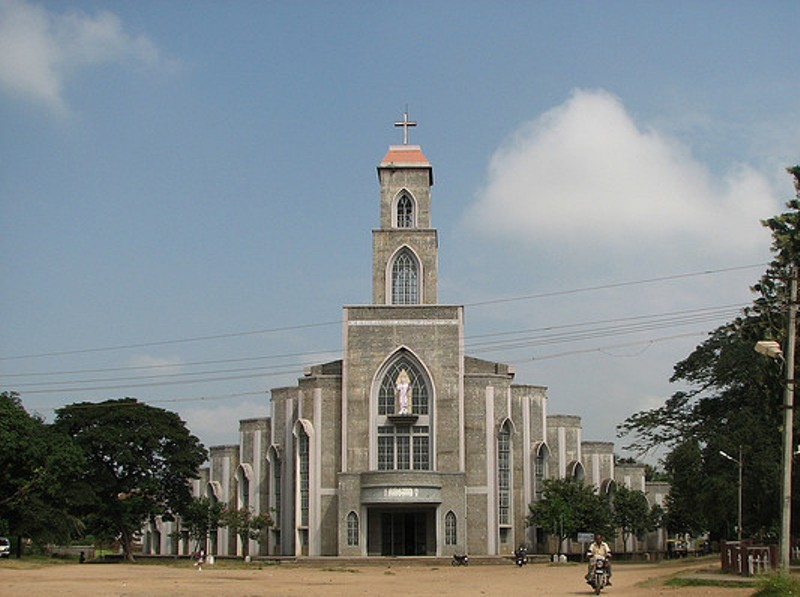 SACRED HEART Cathedral Church Shivamogga